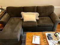 **Beautiful and Functional Haverty Couch Sectional** Fairfax Station