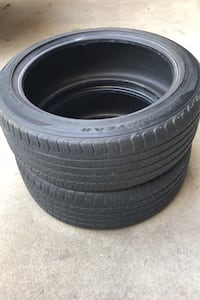 2)  245/45/20 tires and nice condition  Goodyear's. Bakersfield, 93312