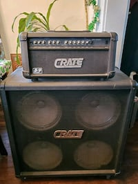 Crate Speaker and Amplifier