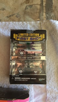 Limited Edition First Shot 1955 Ford Crown Victoria die-cast model box Merced, 95341