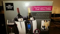 NEVER BEEN USED - Sharper Image Dual Wine Chiller Boston