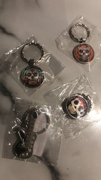 Sugar Skull Keychain London, N6C 5B9