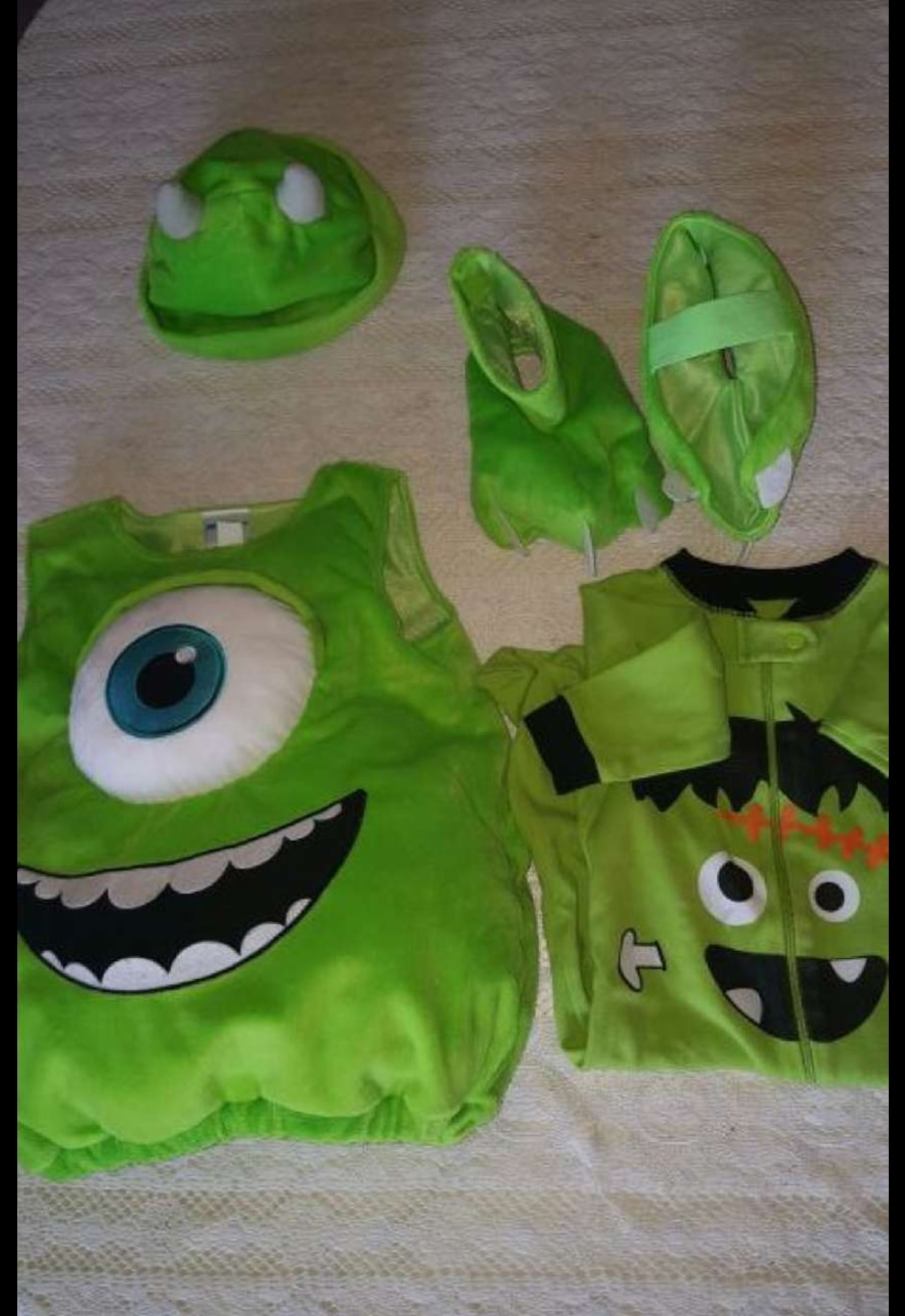 Mike Wasowski Costume  - Base Line