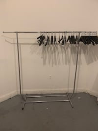 Clothing Rack w/ Hangers , 11205