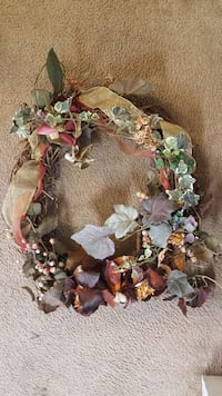 green, white, and brown wreath Katy, 77449