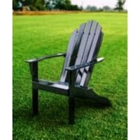Mainstays Wood Adirondack Chair-Black Houston, 77070