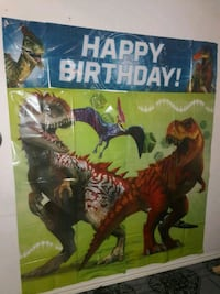 Jurassic world background display and photo props Pharr, 78577