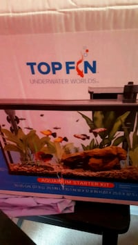 10 gallon tank with everything  u need including   St. Catharines, L2M 4G1