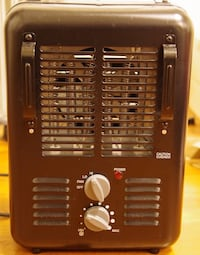 Space heater with handle, 1500W 508 mi
