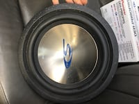 black and gray subwoofer speaker Coquitlam, V3C 3L4