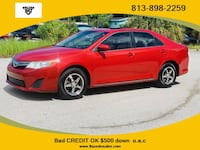 2012 Toyota Camry LE Sedan 4D Tampa