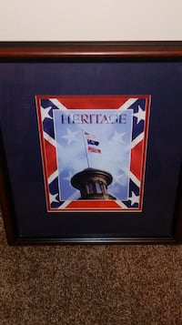 Heritage logo with brown wooden frame Lexington, 29073
