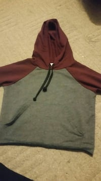 gray and red pullover jacket London, N6H 4R4