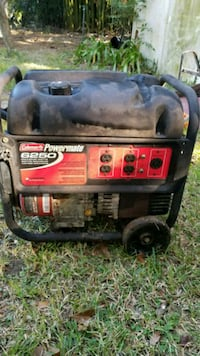 6250 watt generator on wheels Pensacola, 32526