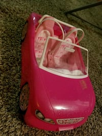 pink and white ride on toy car College Park, 20740