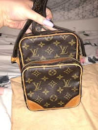 brown Louis Vuitton leather backpack Corpus Christi, 78415