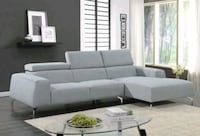 Lincoln Sky Blue Sectional | 1080 Houston