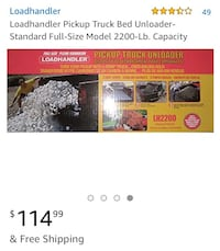 Loadhandler Pickup Truck Bed Unloader