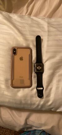 iPhone XS Max and Apple Watch 3 series
