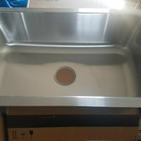 New Sterling Stainless Steel Single Sink  Linden, 07036