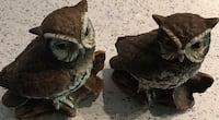 two brown owl figurines Harpers Ferry, 25425