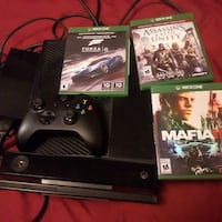 Xbox 1 with 1 controller + kinect +3 games