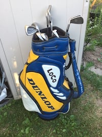 blue and yellow golf bag Welland, L3C 6G8