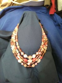 multi colored pink necklace Edmond, 73034