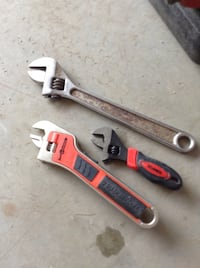 3 wrenches, bottom one is a Black & Decker Automatic