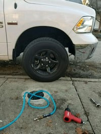 """17"""" rims and tires Evansville, 47714"""