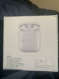 Airpods 2 - Wireless Charging Brand New Sealed