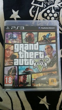 Grand Theft Auto Five Sony PS3 game case Oviedo, 33001