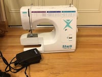 white Singer electric sewing machine Clarksville, 21029