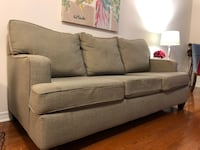 3- seater grey sofa Toronto, M2N 0A3