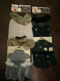 New Dog Outfits (outfits, boots and hoodies) Toronto, M5J