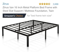 Bed frame queen  Metairie, 70001
