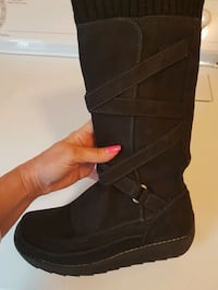 Suede winter boots  Vaughan, L4H 1M4