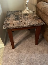 rectangular brown marble top table Biloxi, 39532