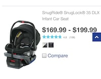 Car seat with stroller frame and two bases  Oxon Hill, 20745