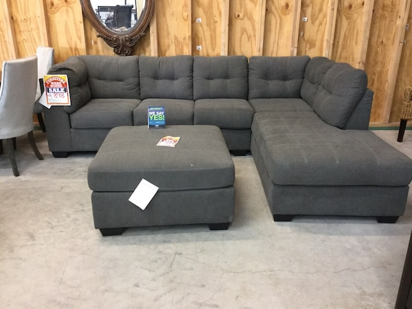 Gray Sectional Made By Ashley Furniture