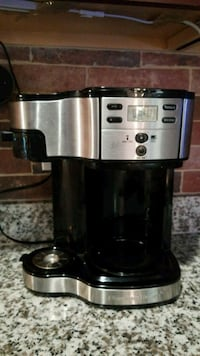 stainless steel and black Cuisinart coffeemaker Ashburn, 20148