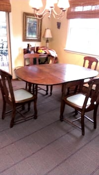 Rustic Dining Table.Chairs ALEXANDRIA