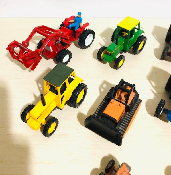 Farm Machine Die Cast Metal Cars In 1/43 Scale! By different makers 979aaf70-5d0d-423c-b8d7-ce915953f701