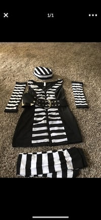 Prisoner Guilty as charged costume woman's small  Bakersfield