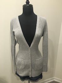 New grey cardigan size M Oakville, T1Y