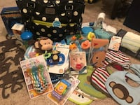 Carters Diaper Bag. Packed with goidies Wichita, 67214