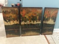 Uttermost 3 Piece Wall Picture  Broadlands, 20148