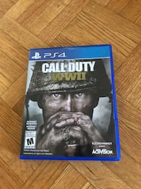 PS4 Call of Duty WWII Toronto, M4T 0A5