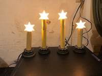 SET OF 4 WINDOW CANDLES  North Dumfries, N0B