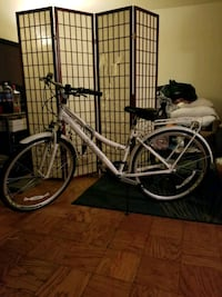 white and black city bike Takoma Park, 20912
